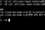 CentOS 7 上安装和配置 MariaDB 10