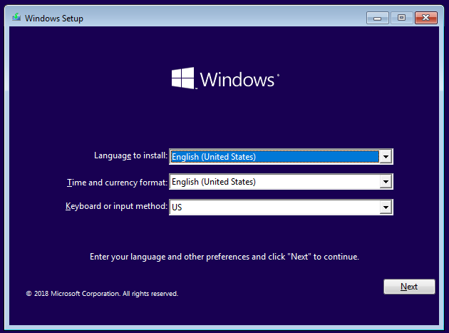 Windows 安装