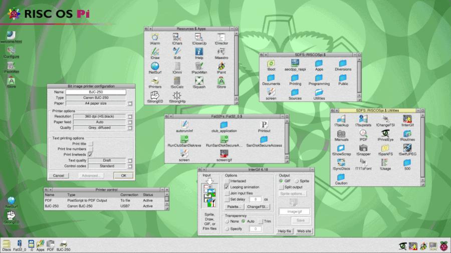 ***RISC OS for Raspberry Pi***
