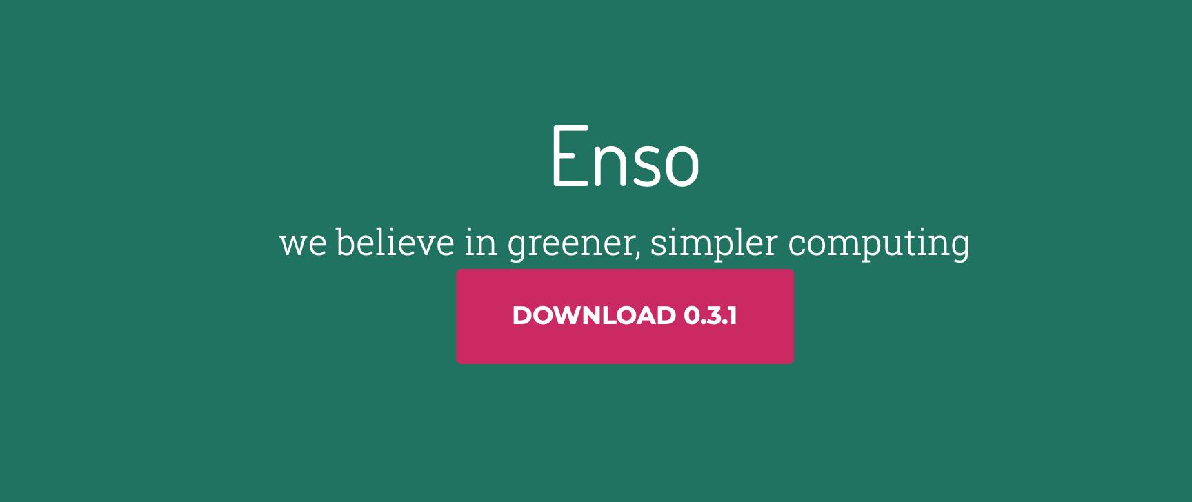 Linux发行版 Enso OS 0.3.1 发布!