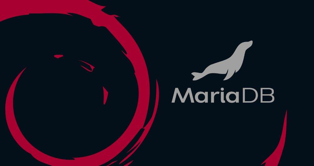 如何在 Debian 10 上安装 MariaDB