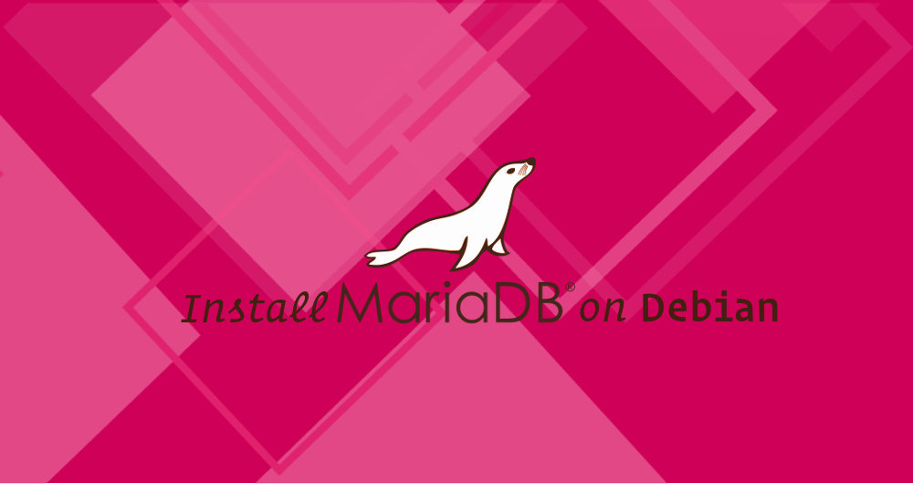 Install MariaDB On Debian