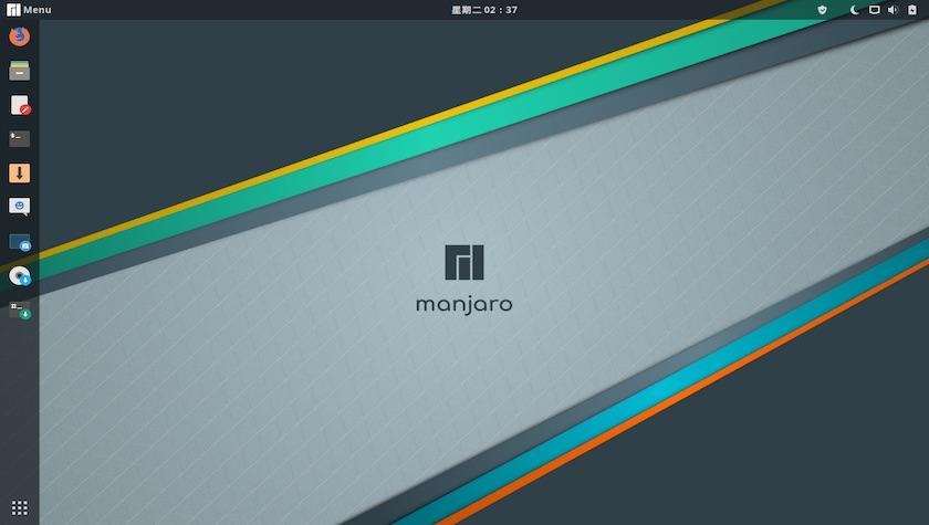 Manjaro Linux 18.0 屏幕截图