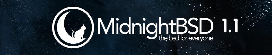 BSD发行版 MidnightBSD 1.1 发布!