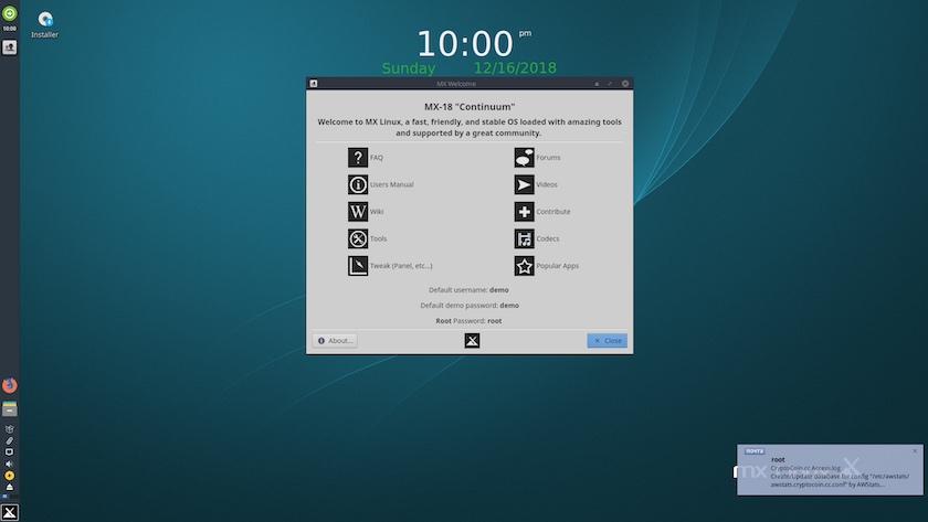 MX Linux 18 RC1 发布!
