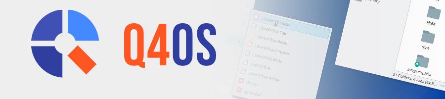 Linux发行版 Q4OS 2.7 发布!